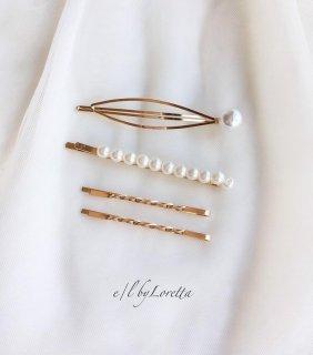 Pearl pin set �