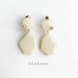 Color KAKERA pierce/earring(Ivory)