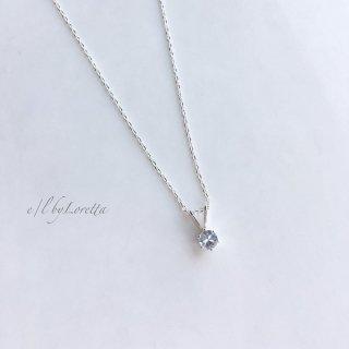 アクアマリン SILVER925 necklace