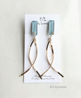 Color w stick pierce/earring(Sax)