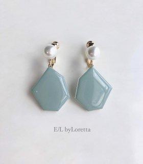 KAKERA pearl pierce/earring �(Mint)