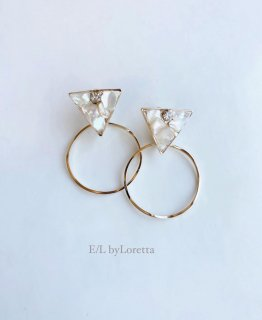 2way triangle shell hoop pierce