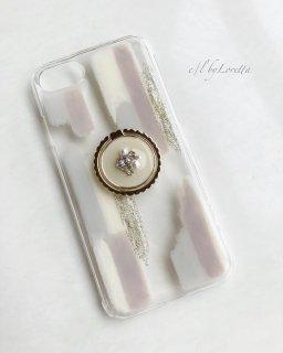 選べるスマホリング × Art iphone case� set