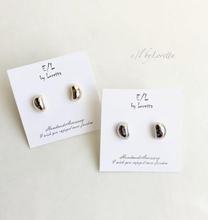 (全2色)Metal mini beans pierce