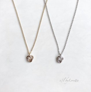 (全2色)CZ design Necklace