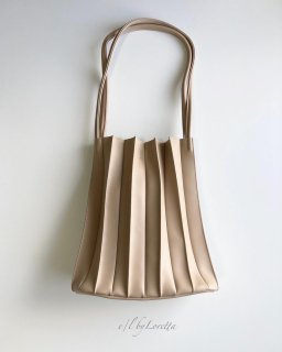 Pleats bag(Beige)