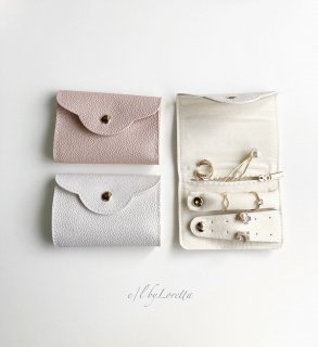(全2色)Dsign mini jewelry pouch
