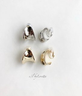 (全2色)Metal design earring