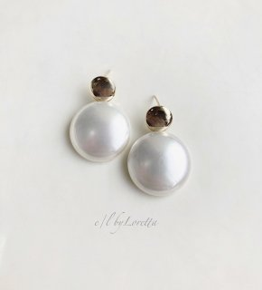 【4/17(sat)21:00〜Order Start.】Metal pearl pierce