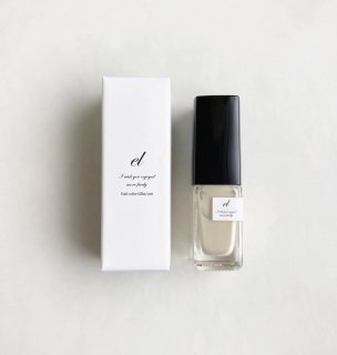 【5/1(sat)21:00〜Order Start.】el nail color -ivory-【マニキュア単品】