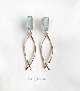Color w stick pierce/earring(Mint)