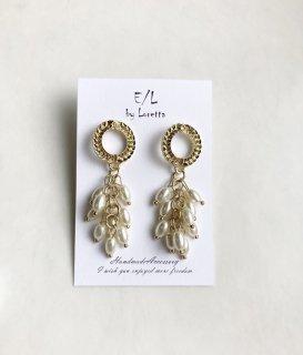 【8/4(wed)21:00〜Order Start.】Pearl tassel pierce
