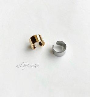 (全2色)Metal ear cuff �