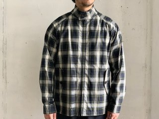 <img class='new_mark_img1' src='https://img.shop-pro.jp/img/new/icons47.gif' style='border:none;display:inline;margin:0px;padding:0px;width:auto;' />《Import》INVERTERE -Harrington Jacket (tartan check)- Made in England