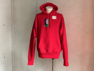 【50%OFF】《Import》CAMBER -Sweat parka (red)- Made in USA