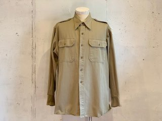<img class='new_mark_img1' src='https://img.shop-pro.jp/img/new/icons47.gif' style='border:none;display:inline;margin:0px;padding:0px;width:auto;' />【20%OFF】US Army -Work Shirt (beige)- Made in USA