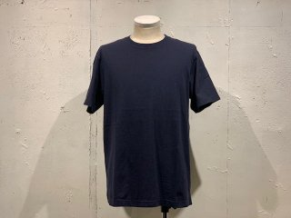 《Import》VICTORIA ATHLETICS -Crew Neck T-shirt  (navy)- Made in CANADA