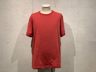 《Import》VICTORIA ATHLETICS -Crew Neck T-shirt  (red)- Made in CANADA