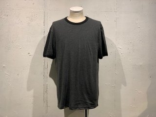 《Import》VICTORIA ATHLETICS -Crew Neck T-shirt  (charcoal grey)- Made in CANADA