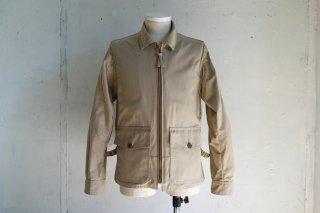 -Willis & Geiger outfitters- bushed cotton poplin G-8 open cockpit flight jacket