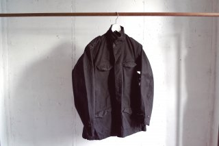 <img class='new_mark_img1' src='https://img.shop-pro.jp/img/new/icons1.gif' style='border:none;display:inline;margin:0px;padding:0px;width:auto;' />50's French Military - M47 Jacket Black《黒染め》- (used)