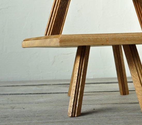 六角形のローテーブルの画像