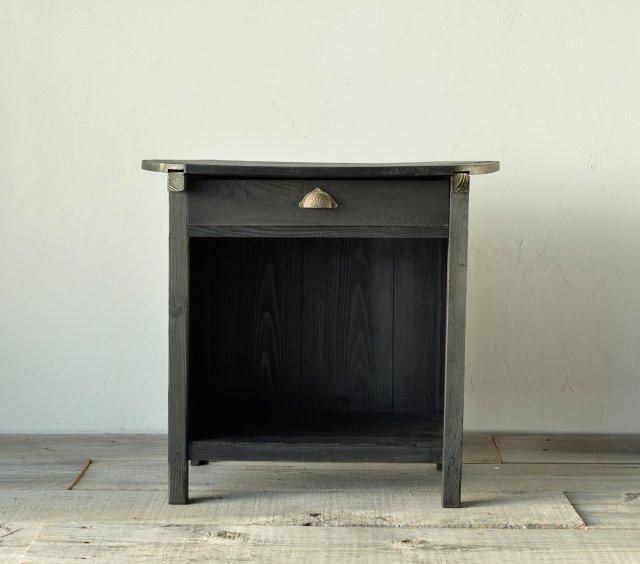 黒いコンソールテーブル