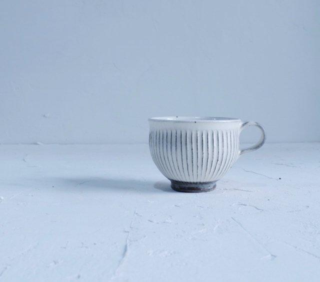 コーヒーカップ(面取り・鎬)【ICCAオリジナル】