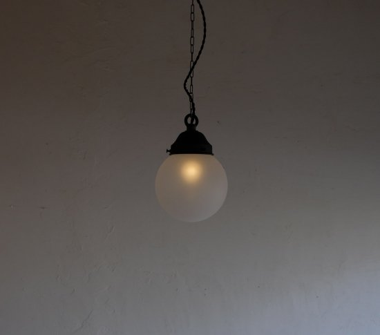 【ICCAオリジナル】大正ロマンのペンダントライト(小)《透明・艶消し》の画像