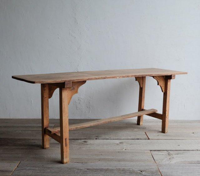 縦長のダイニングテーブル