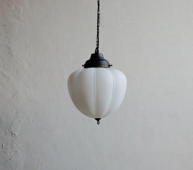 南瓜のペンダントライト