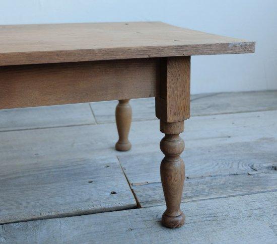 白木のコーヒーテーブル�の画像