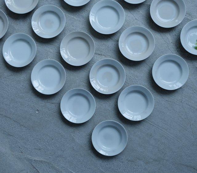 大正期の白磁の皿