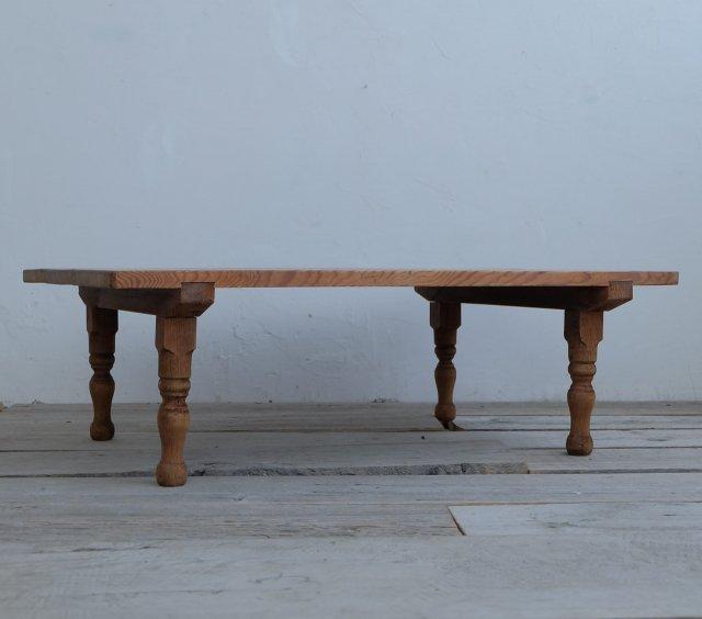 杉のリビングテーブル