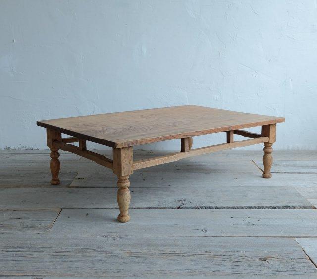 欅のリビングテーブル2