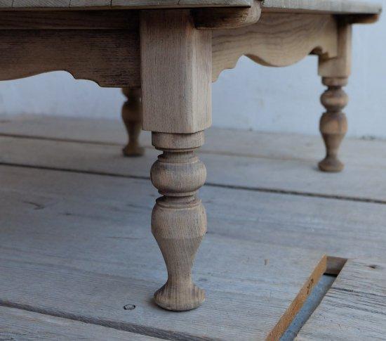 ろくろ脚のコーヒーテーブルNo,27の画像