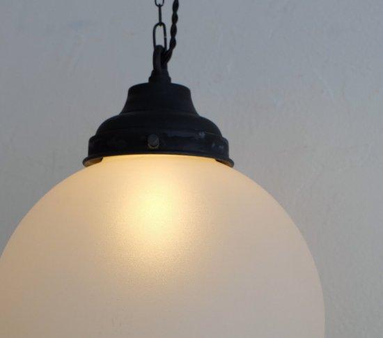 【ICCAオリジナル】大正ロマンのペンダントライト(大)《透明・艶消し》の画像