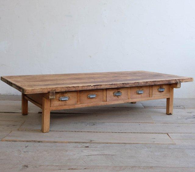 檜のダイニングテーブル(LOW STYLE)