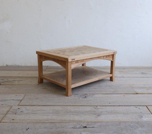和のコーヒーテーブル(玉杢)