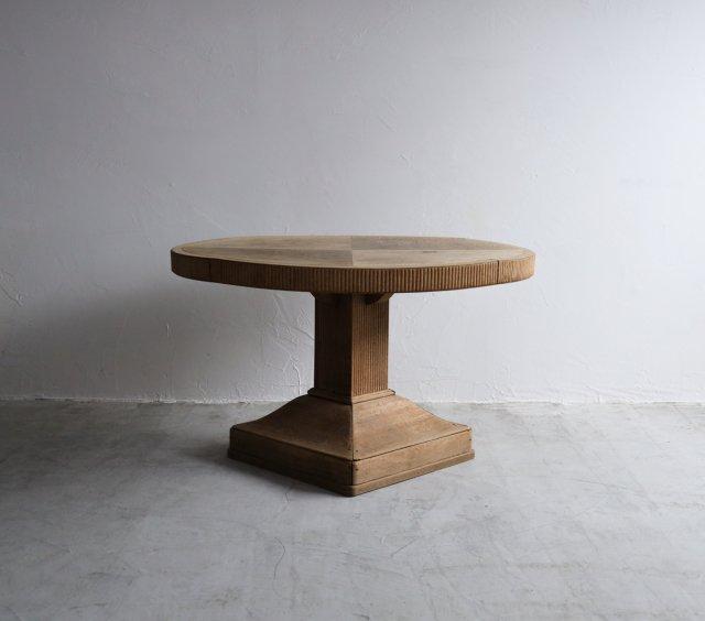 帯飾りのエレガントな丸テーブル