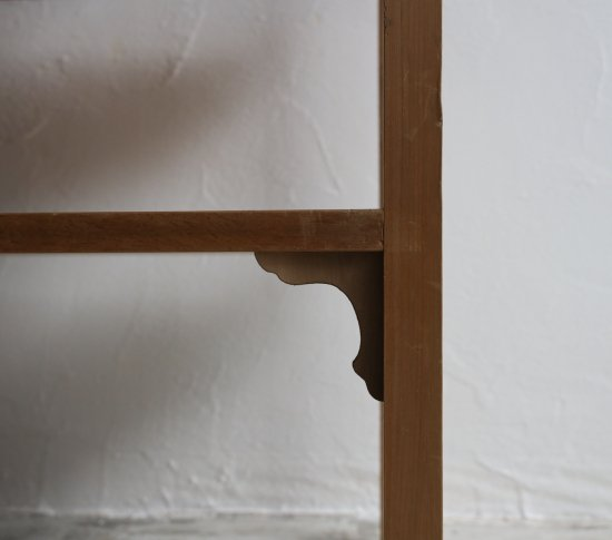 和飾りのオープンラックの画像