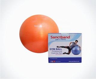 サンクトバンド プロフェッショナル アンチバーストジムボール 55センチ / オレンジ