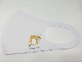 オリジナルマスク/ホワイト【猫ver】