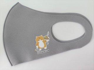 オリジナルマスク/グレー【猫ver】