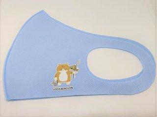 オリジナルマスク/ライトブルー【猫ver】