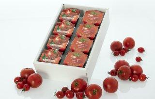 日向の雫プレミアムトマトゼリー(4個)+プレミアムトマトジュース(4個)+ギフト箱