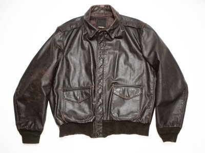80's Vintage USA製【I.SPIEWAK&SONS】スピワック A-2フライト レザー ジャケット◆size:US-42【USED】