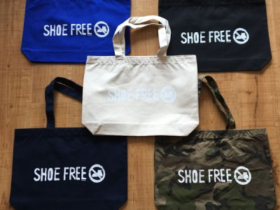 【SHOE FREE】CANVAS TOTE BAG オリジナル キャンバス トートバッグ 【A TYPE】