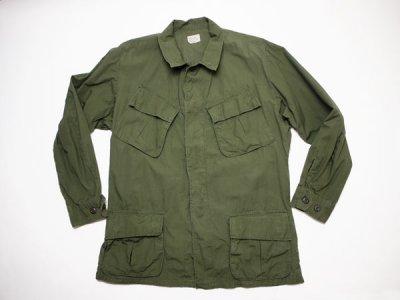 60's Vintage【US.ARMY】米軍 ビンテージ ジャングルファティーグジャケット 4th ミリタリー ジャケット(1801-109)◆Size:US-M-Regular 【USED】