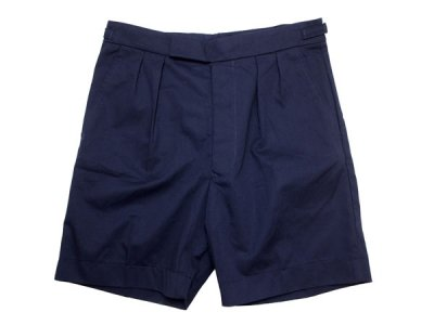 90's 【British Royal Navy】 イギリス軍 ショートパンツ Short Pants 紺 【DEADSTOCK】